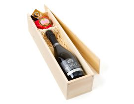 Prosecco Fizz & Strawberry Cheese Gift Box