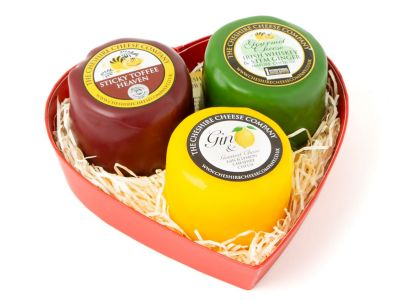 Sweet cheese gift set selection, cheshire cheese company