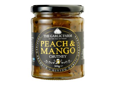 Peach & Mango Chutney, The Garlic Farm 300g