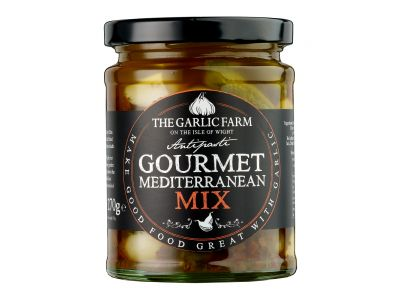 Gourmet Mediterranean Mix Antipasti, The Garlic Farm 340g