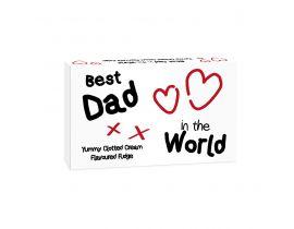 Best Dad in the World Fudge