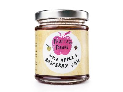 Wild Apple and Raspberry  Jam