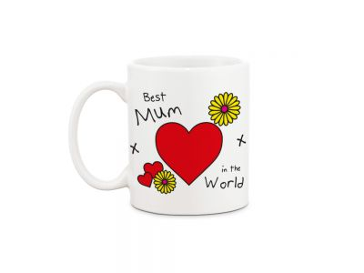 Best Mum in the World Mug & Fudge Gift Set