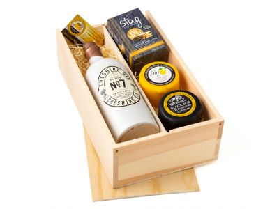 Cheshire Gin & Cheese Gift Box