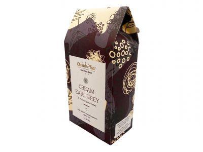 Cream Earl Grey Tea Pyramids, Cheshire Tea