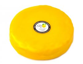 Party Time Wheel of Gin & Lemon Cheese Waxed 2kg