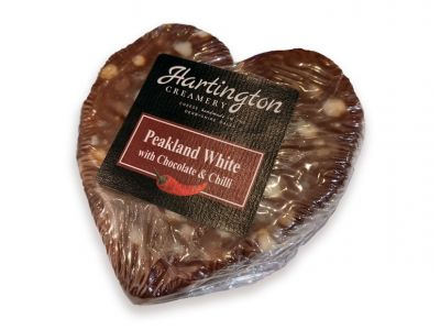 Limited Edition Peakland White with Chocolate & Chilli Heart