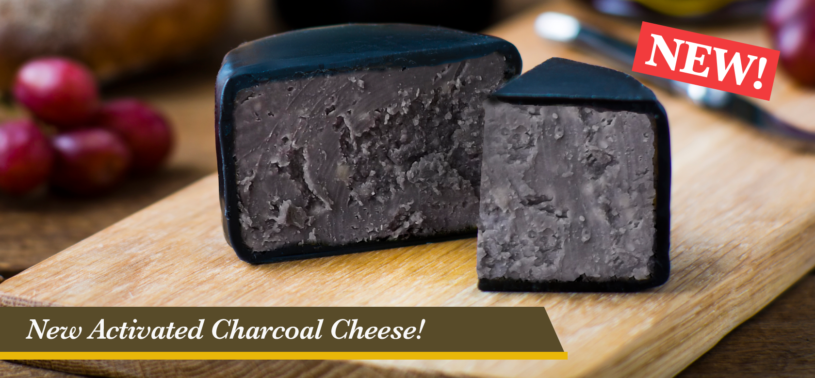 Charcoal Cheese