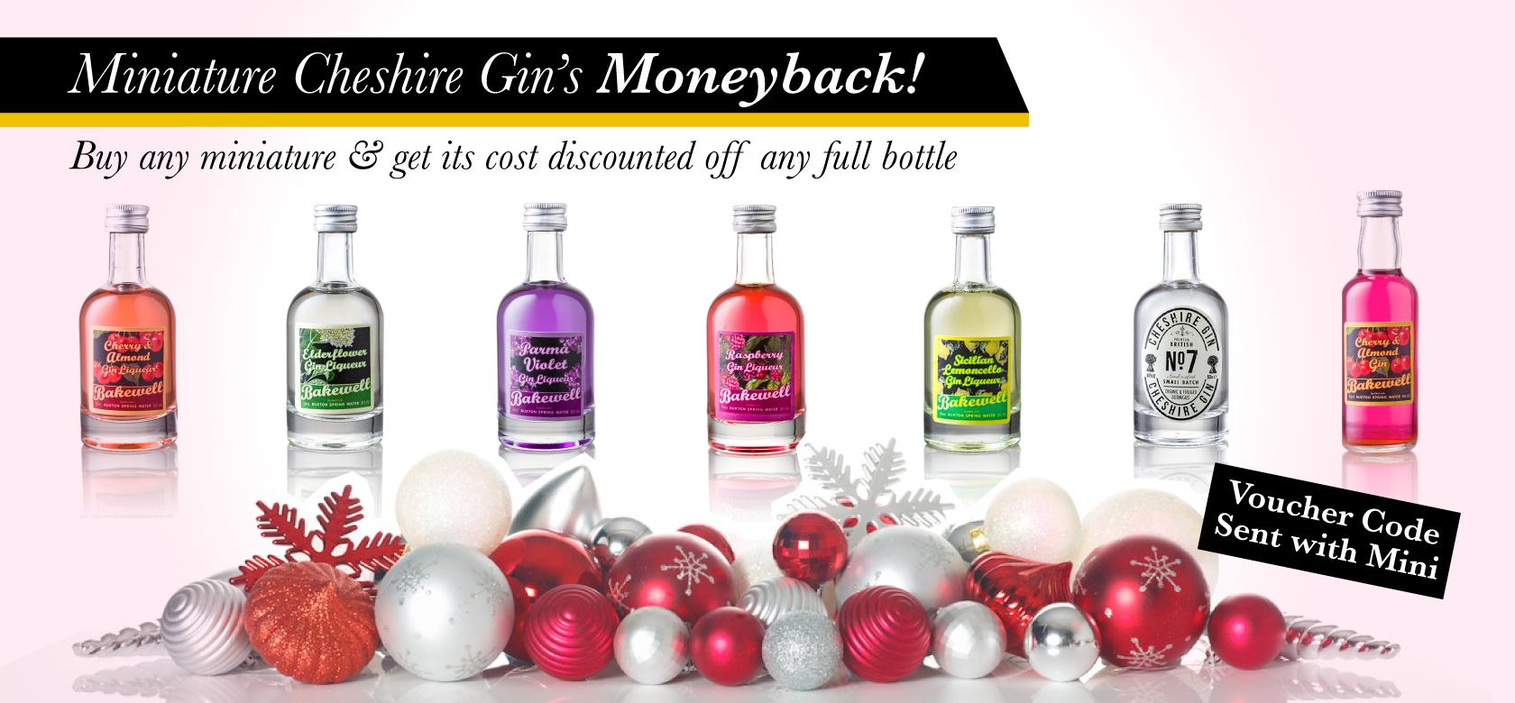 Cheshire Gin Miniatures