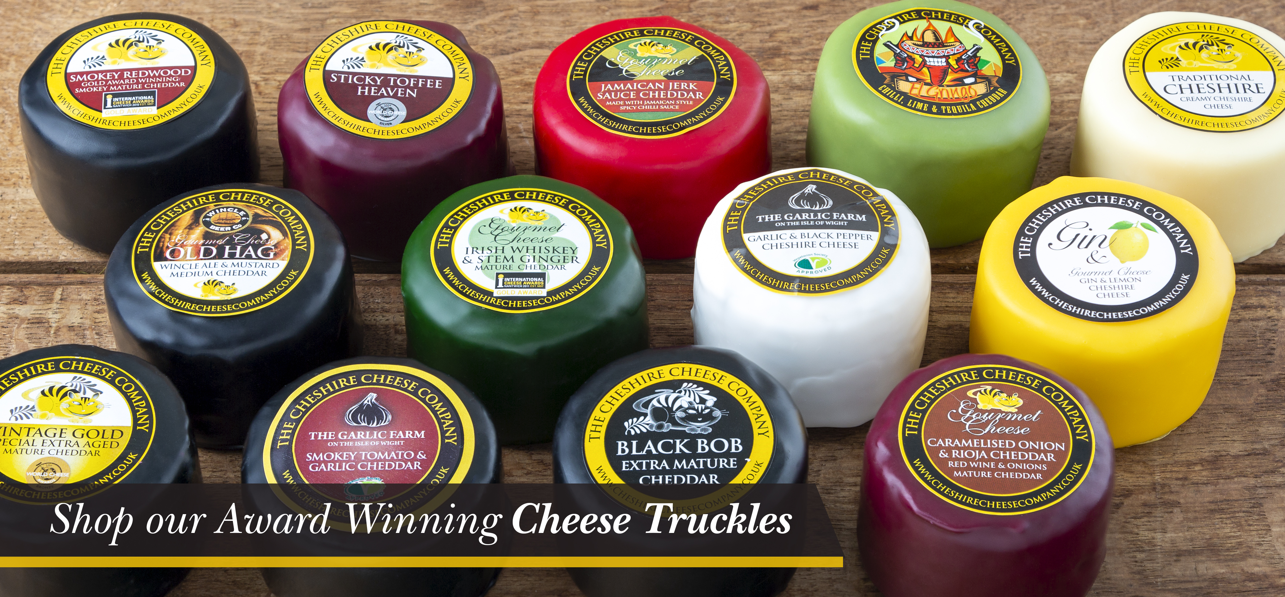 Individual Cheese Truckles
