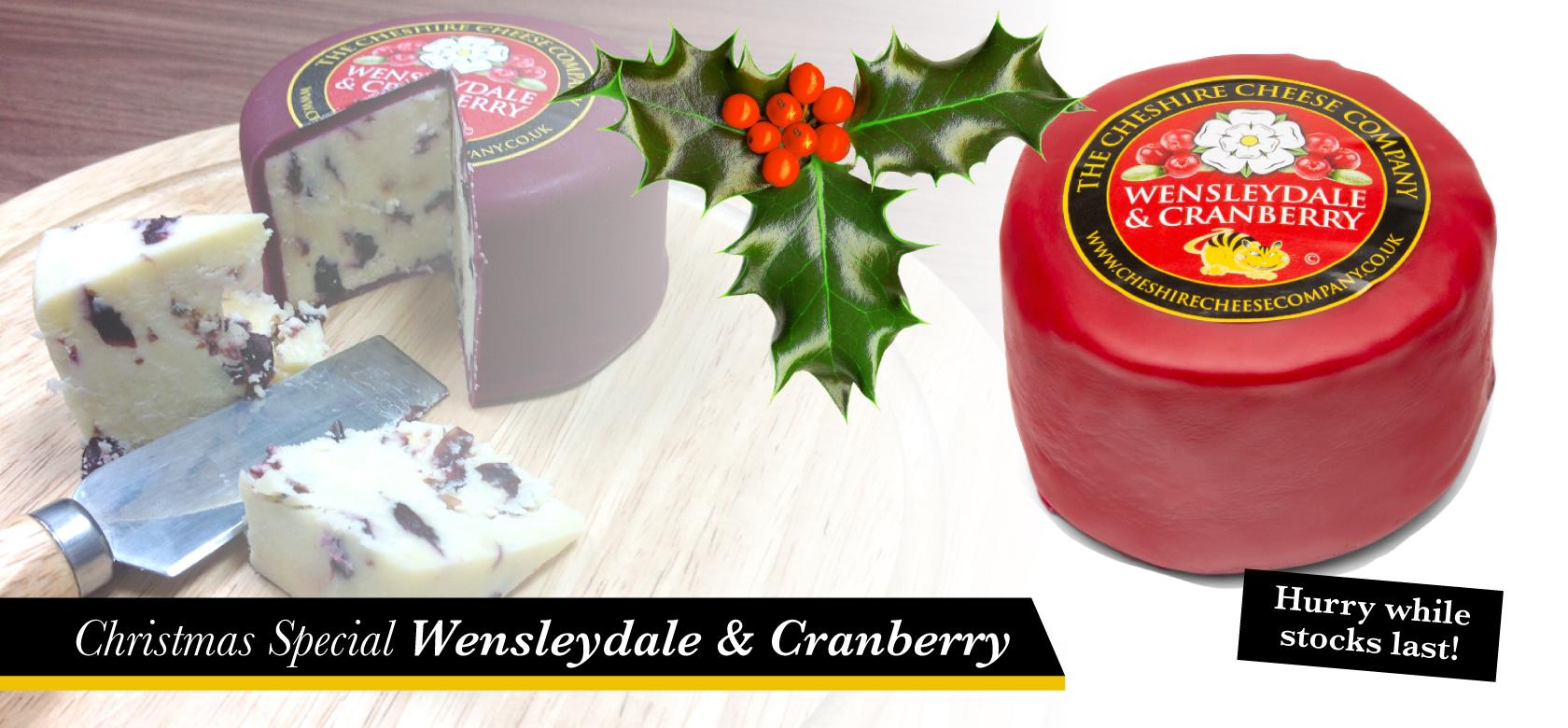 Wensleydale & Cranberry Cheese