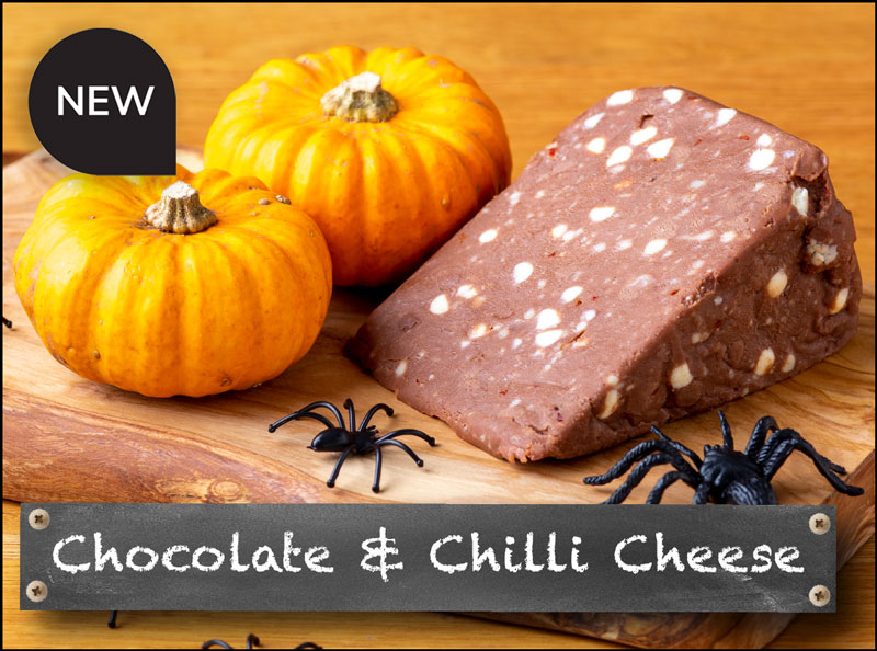 New Chocolate and Chilli Cheese!
