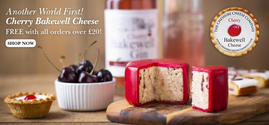Cherry Bakewell Cheese - ...